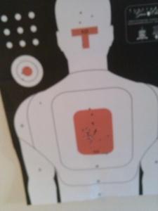 Dead on target.