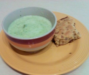 how to make cream of broccoli soup