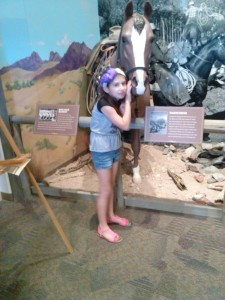 Payton at the River of Time Museum